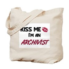 Kiss Me I'm a ARCHIVIST Tote Bag