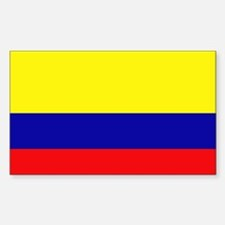 Colombia Rectangle Decal