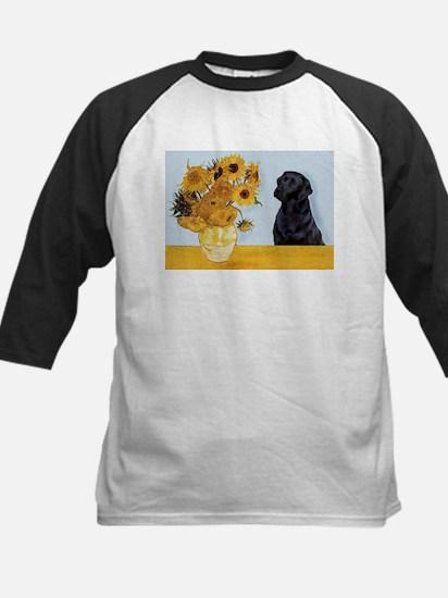 Sunflowers / Lab Kids Baseball Jersey
