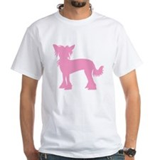 Chinese Crested Pink Shirt