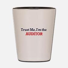 Trust me, I'm the Auditor Shot Glass