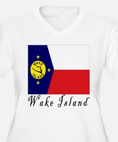 2kx2k wake island Plus Size T-Shirt