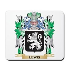 Lewis Coat of Arms - Family Crest Mousepad