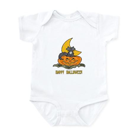 Kitten, Pumpkin, Moon Infant Bodysuit