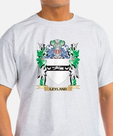 Leyland Coat of Arms - Family Crest T-Shirt