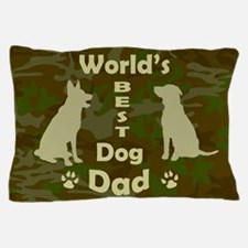 Worlds Best Dog Dad Pillow Case