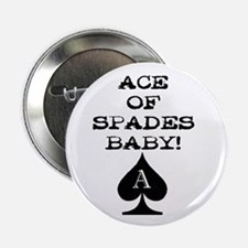 Ace of Spades Baby Button