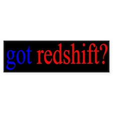 Red Shift Bumper Bumper Sticker