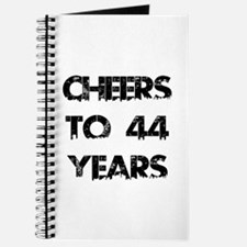 Cheers To 44 Years Designs Journal