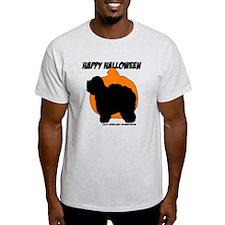 Sheepdog Halloween Pumpkin T-Shirt
