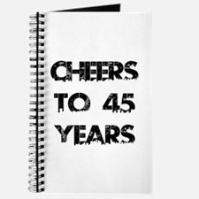 Cheers To 45 Years Designs Journal
