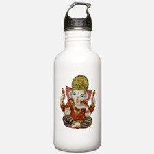Unique Peace love elephants Water Bottle