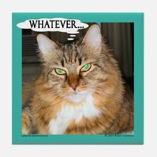 Pet Humor - Maine Coon Cat Tile Coaster