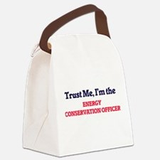 Trust me, I'm the Energy Conserva Canvas Lunch Bag