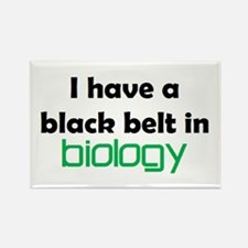 biology black belt Rectangle Magnet