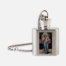 Unique Extravaganza Flask Necklace