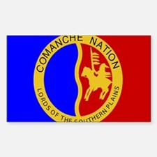 Comanche Nation Seal Decal