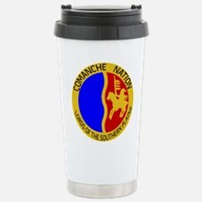 Comanche Nation Seal Stainless Steel Travel Mug