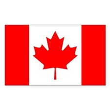 Canada Rectangle Decal