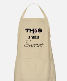 THIS I Will Survive BBQ Apron