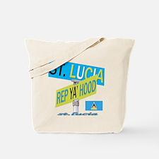 REP ST. LUCIA Tote Bag