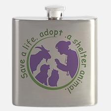 Save a life adopt Flask