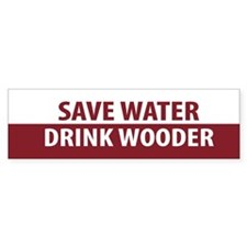 Drink Wooder Bumper Bumper Sticker