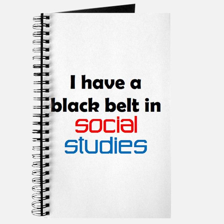social studies black belt Journal