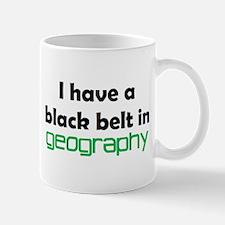geography black belt Mug