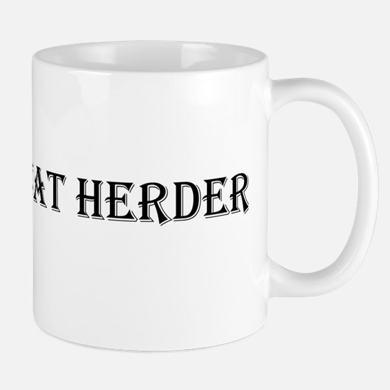 catherder_blktxt_png Mugs