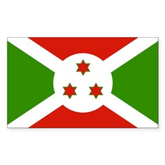 Burundi Rectangle Decal
