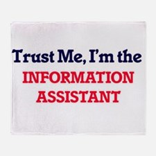 Trust me, I'm the Information Assist Throw Blanket