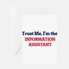 Trust me, I'm the Information Assis Greeting Cards