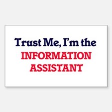 Trust me, I'm the Information Assistant Decal