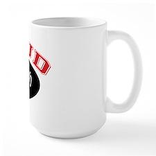 Proud PopPop (black & red) Mug