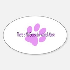 No Excuses Oval Decal