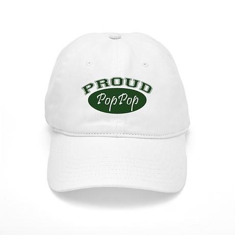 Proud PopPop (green) Cap