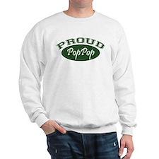 Proud PopPop (green) Sweatshirt