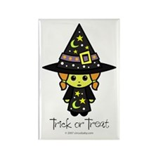 Trick or Treat Witch Rectangle Magnet