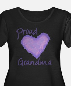 Proud Grandma Plus Size T-Shirt
