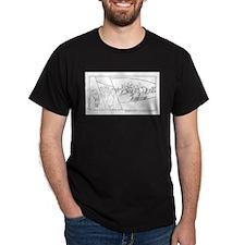 Graffitti on the Space Ship T-Shirt