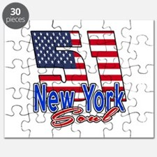 51 New York Soul Birthday Designs Puzzle