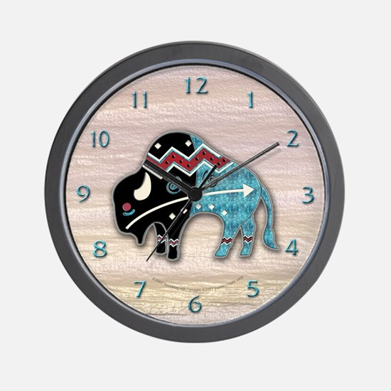 Great Bison #2 Wall Clock