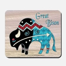 Great Bison #2 Mousepad