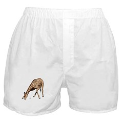 Giraffe African Wildlife Boxer Shorts