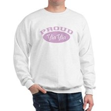 Proud YiaYia (pink) Sweater