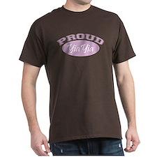 Proud YiaYia (pink) T-Shirt