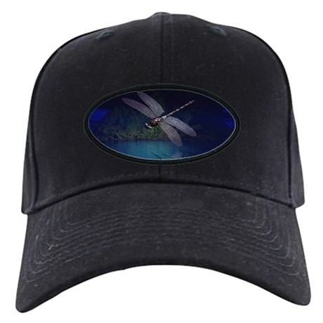 Dragonfly at Night Black Cap
