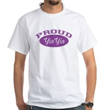 Proud YiaYia (purple) Shirt