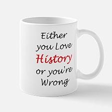 love history or Small Small Mug